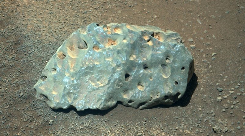 NASA Shows Off Photo of Rock With Laser Holes From Mars Rover