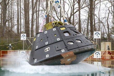 NASA's next-gen Orion spacecraft makes a splash in latest test