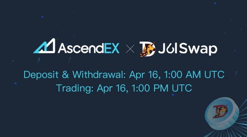 JulSwap Listing on AscendEX