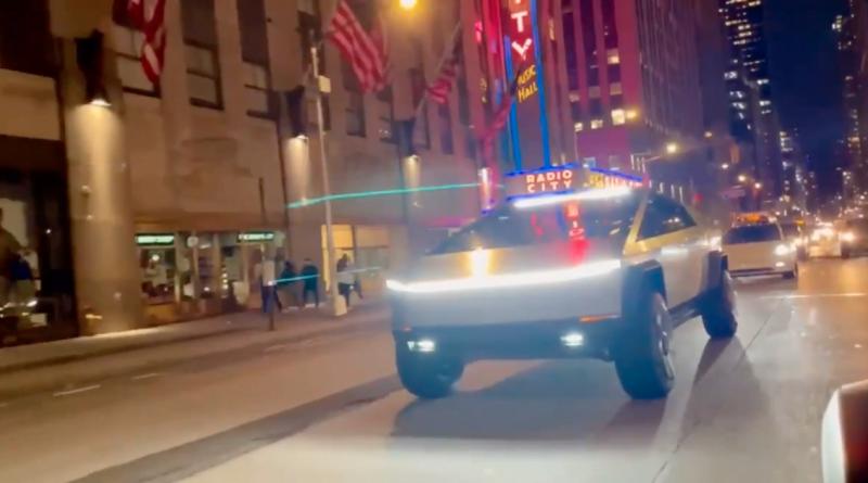 Tesla Cybertruck Hits Streets of NYC, Breaks Several Traffic Laws