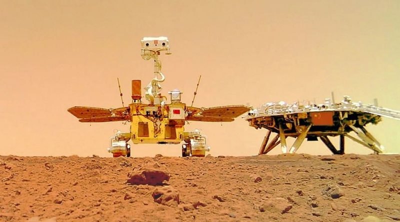 China's Zhurong Rover Snaps a Selfie on the Surface of Mars   Digital Trends