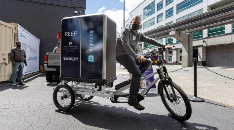 Seattle's new zero-emissions delivery hub is an experiment in slashing e-commerce emissions