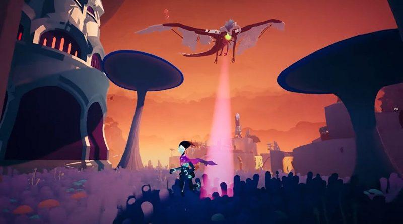 Solar Ash's skater takes down a giant flying beastie in new trailer