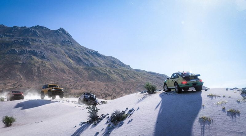 Forza Horizon 5's massive map will contain 11 biomes and a whole lot of weather
