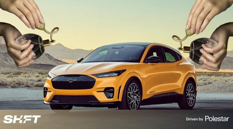 Ford finds the most what-the-fuck strategy to market its EVs: PERFUME