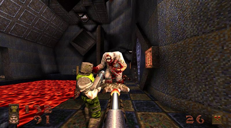 Quake gets a new expansion, enhanced graphics and splitscreen multiplayer for its birthday