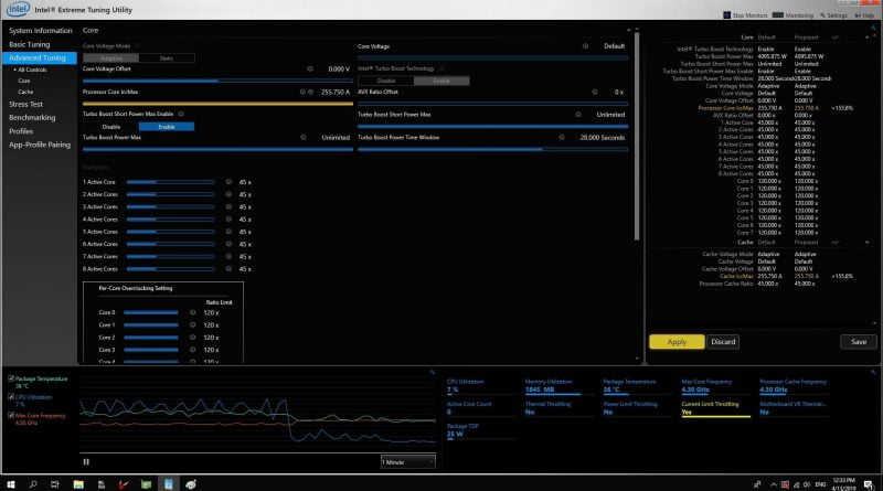 Intel Tuning Utility Adds Alder Lake Overclocking Support | Digital Trends
