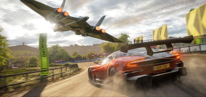 A car in Forza Horizon 5.