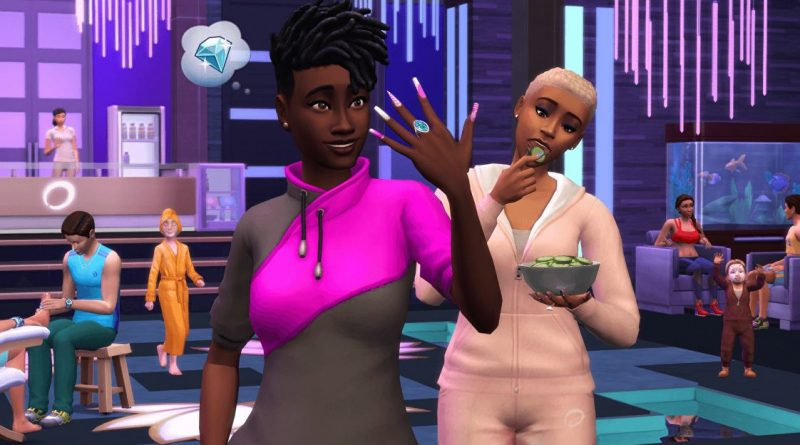 The Sims 4 refreshes the Spa day pack with nail art, at last