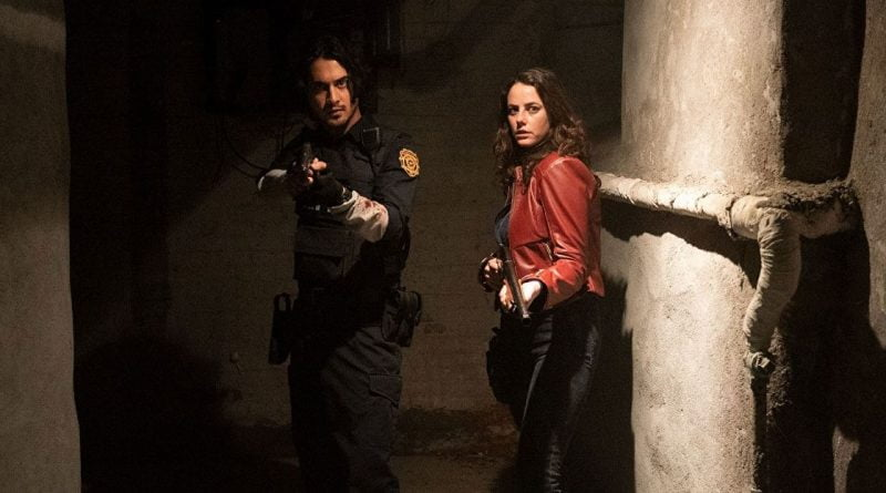 Claire Redfield has lovely hair in the first Resident Evil: Welcome To Raccoon City stills