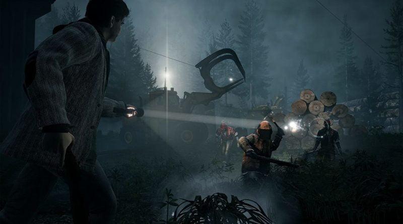 Alan Wake Remastered leaked images show nice visual improvements