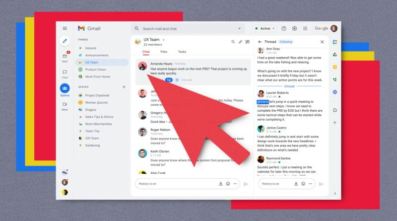 Google Workspace adds a 'report' button for flagging coworkers' misconduct