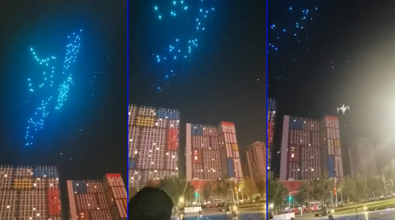 Light Show Goes Wrong When Drones Start Plummeting Out of the Sky