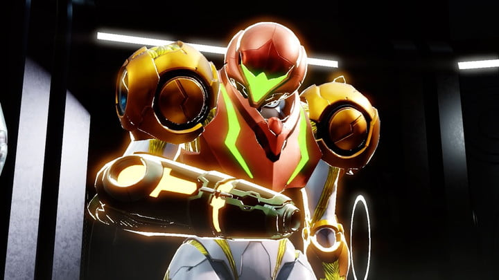 Varia Suit in Metroid Dread.