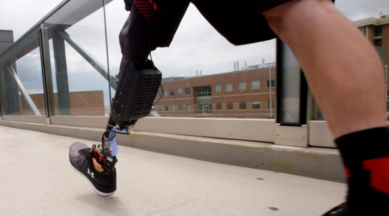Watch a Robot Exoskeleton Help People Without Legs Walk Upright